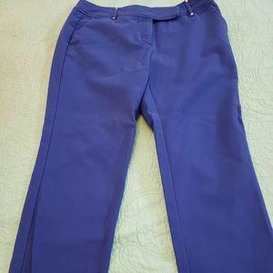 Ann Klein blue trousers